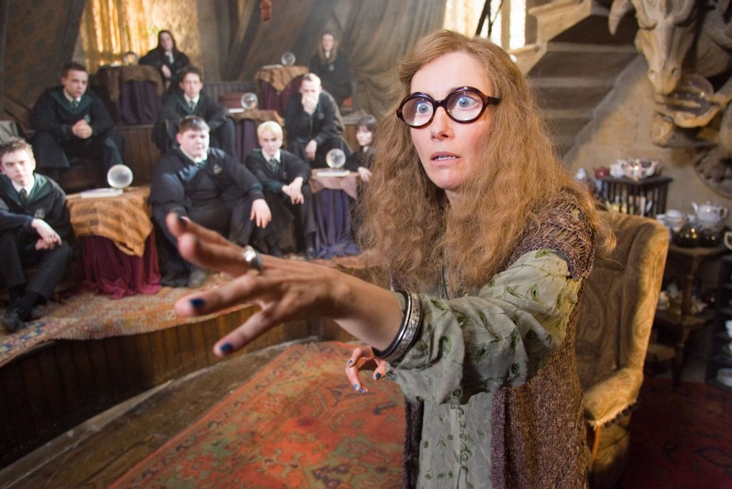 "EMMA THOMPSON as Sybill Trelawney in Warner Bros. Pictures' fantasy ""Harry Potter and the Order of the Phoenix.""  PHOTOGRAPHS TO BE USED SOLELY FOR ADVERTISING, PROMOTION, PUBLICITY OR REVIEWS OF THIS SPECIFIC MOTION PICTURE AND TO REMAIN THE PROPERTY OF THE STUDIO. NOT FOR SALE OR REDISTRIBUTION"